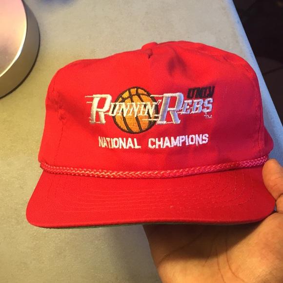 e594d33b7 Vintage UNLV Rebels National Championship Hat